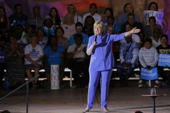 LAS VEGAS, NANOVOLT - 14 DE OUTUBRO DE 2015: Hillary Clinton, U anterior S secretário de estado e 2016 candidatos presidenciais D Foto de Stock Royalty Free