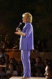 LAS VEGAS, NANOVOLT - 14. OKTOBER 2015: Hillary Clinton, ehemaliges U S Staatssekretär und 2016 demokratischen Präsidentschaftsan Lizenzfreie Stockbilder