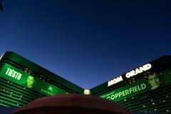 Las Vegas, Nanovolt, USA 09032018: MGM-ressort stockfotos