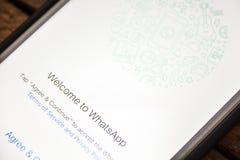 LAS VEGAS, nanovoltio - agosto 26,2016: Foco selectivo Apple i de la ilustración Imagen de archivo libre de regalías