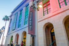 LAS VEGAS, NANOVOLTIO - 21 DE NOVIEMBRE DE 2016: La multitud del museo, presentes una vista intrépida y auténtica del impacto del fotos de archivo libres de regalías