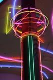 Las Vegas neon lights. Artistic Las Vegas neon lights Royalty Free Stock Image