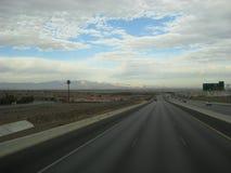 Las vegas highway royalty free stock photography