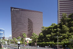 Las Vegas, Nevada – September, 30: LasVegas WYNN Resort hotels and Casino on September 30, 2013 in Las Vegas, NV, USA. Horizontal Image Stock Image