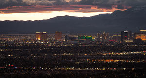 Las Vegas, Nevada Imagen de archivo libre de regalías