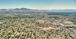 Las Vegas Nevada - Aereal view Stock Images