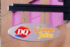 LAS VEGAS, NEVADA - 22 agosto 2016: Regina di Dair ed arancia luglio Immagini Stock Libere da Diritti