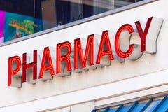 LAS VEGAS, NEVADA - 22 août 2016 : La pharmacie se connectent Fremont Images stock