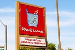LAS VEGAS, NEVADA - 22 août 2016 : WI de magasin de détail de Walgreens Photos libres de droits