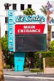 LAS VEGAS, NEVADA - 22. August 2016: EL Cortez In Las Vegas En Lizenzfreies Stockbild