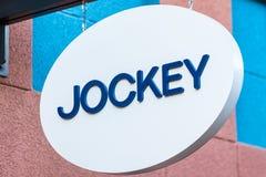 LAS VEGAS, NEVADA - August 22nd, 2016: Jockey Logo On Store Fron Royalty Free Stock Images