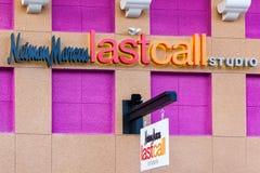 LAS VEGAS, NEVADA - 22. August 2016: Neiman Marcus Last Call L lizenzfreies stockbild