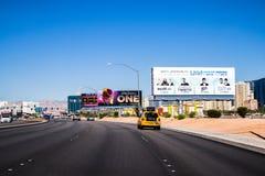 Las Vegas Nevada, avenue est de Tropicana Image libre de droits