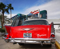 Las Vegas, Nevada - Chevrolet Bel Air Tropicana Hotel Stock Photos