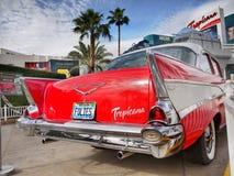Las Vegas, Nevada - Chevrolet Bel Air Tropicana Hotel Stock Photos