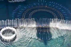 Las Vegas, Nevada - de V.S. - 05,2017 Juni - Bellagio het Water toont La Stock Foto's