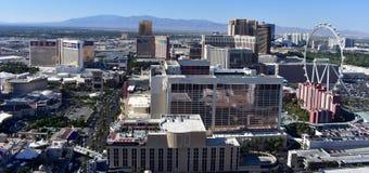 Las Vegas, Nevada - de V.S. - 05,2017 Juni - de Bouw van de Stadshorizon Royalty-vrije Stock Afbeeldingen