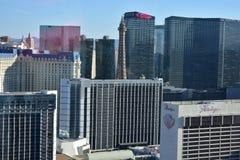 Las Vegas, Nevada - de V.S. - 05,2017 Juni - de Bouwmeningen van Las Vegas Stock Foto