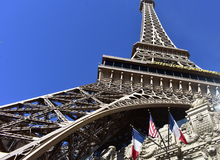 Las Vegas, Nevada - de V.S. - 05,2017 Juni - de Toren van Eiffel in Parijs Las Vegas Stock Fotografie