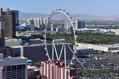 Las Vegas, Nevada - de V.S. - 05,2017 Juni - Ferris Wheel Las Vegas Stock Foto's
