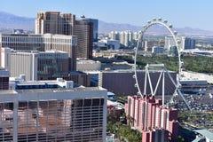 Las Vegas, Nevada - de V.S. - 05,2017 Juni - Groot Wiel Las Vegas Royalty-vrije Stock Afbeelding