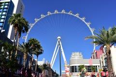 Las Vegas, Nevada - de V.S. - 05,2017 Juni - Hoge Rol Ferris Wheel Royalty-vrije Stock Afbeeldingen