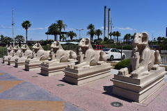 Las Vegas, Nevada - de V.S. - 05,2017 Juni - Luxor Las Vegas Royalty-vrije Stock Foto's
