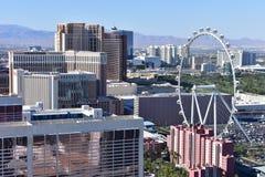 Las Vegas, Nevada - de V.S. - 05,2017 Juni - mening van de strook van Las Vegas Stock Foto's