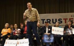 LAS VEGAS, NEVADA, DECEMBER 17, 2015: Republican Presidential candidate Sen. Ted Cruz, R-Texas, speaks during Presidential Nevada  Stock Photos