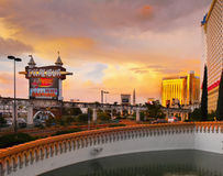 Las Vegas, Nevada - Excalibur Hotel and Casino royalty free stock photos