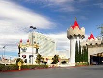 Las Vegas, Nevada, Excalibur hotel i kasyno, - Zdjęcie Stock