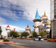 Las Vegas, Nevada, Excalibur hotel i kasyno, - Zdjęcie Royalty Free