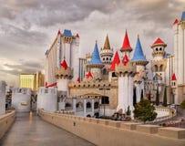 Las Vegas, Nevada, Excalibur hotel i kasyno, - Fotografia Royalty Free