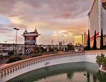 Las Vegas, Nevada, Excalibur hotel i kasyno, - Obrazy Stock