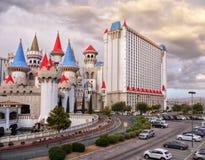Las Vegas, Nevada, Excalibur hotel i kasyno, - Zdjęcia Royalty Free