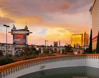 Las Vegas, Nevada - hotel de Excalibur y casino Fotos de archivo libres de regalías
