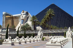Las Vegas, Nevada-- Luxor-Hotel und Kasino Stockbild