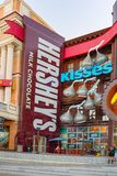 Las Vegas, Nevada, Main street of Las Vegas- is the Strip royalty free stock photos