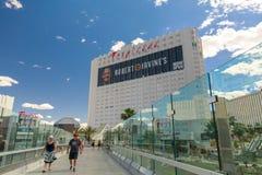 Exterior of Tropicana Hotel in Las Vegas strip, Nevada Royalty Free Stock Photos