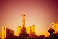 Golden Vegas Stock Images