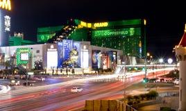 LAS VEGAS, NEVADA - MGM-Straatmening stock afbeelding