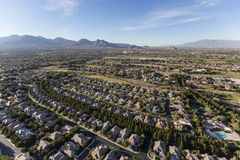 Las Vegas Nevada Neighborhood Aerial Royalty Free Stock Photography