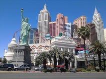 Las Vegas Nevada New York Statue di libertà immagine stock libera da diritti