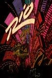Las Vegas, Nevada, at night in USA Royalty Free Stock Photo