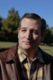 LAS VEGAS, NEVADA, O 17 DE DEZEMBRO DE 2015: Perfil do close up do senador republicano do candidato presidencial Ted Cruz, R-Texa Imagem de Stock Royalty Free