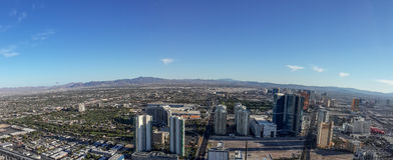 Las Vegas nevada panorama Arkivfoto
