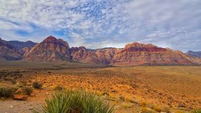 Red rock. Las Vegas nevada Stock Image