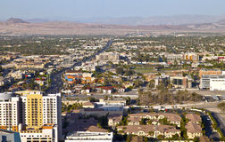 Las Vegas Nevada a residential landscape. Stock Photo