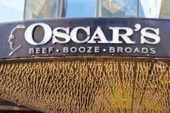 LAS VEGAS NEVADA, Sierpień, - 22nd, 2016: Oskar wołowiny gorzała Broads obrazy royalty free