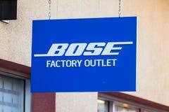 LAS VEGAS NEVADA, Sierpień, - 22nd, 2016: Bose mówców logo Na Sto Zdjęcia Stock